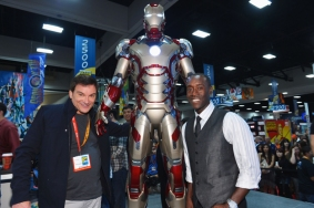First Look at Iron Man 3 Armour Comic Con 2012 Photos 05