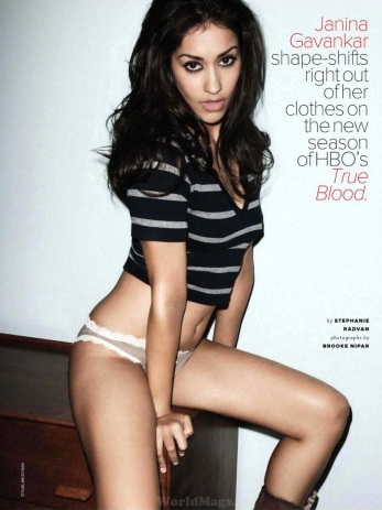 Janina Gavankar in Maxim July 2012 Photos - 002