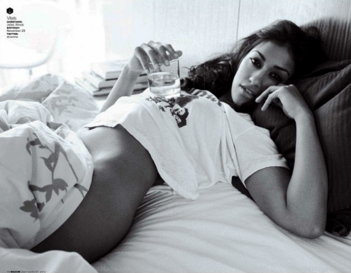 Janina Gavankar in Maxim July 2012 Photos - 003