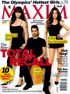 Jessica Biel & Kate Beckinsale Maxim Magazine July:August 2012 Photoshoot [Photos] - 008