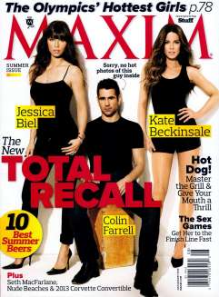 Jessica Biel & Kate Beckinsale Maxim Magazine July:August 2012 Photoshoot [Photos] - 008