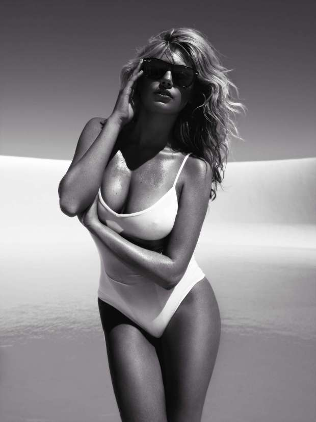 Kate Upton Swimsuit Photoshoot for Vogue Magazine Spain July 2012 Photos Hi Res - 009
