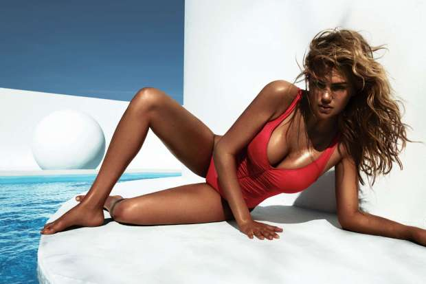 Kate Upton Swimsuit Photoshoot for Vogue Magazine Spain July 2012 Photos Hi Res - 010