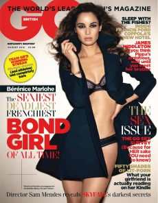 New Bond Girl Bérénice Marlohe GQ Magazine August 2012 Photos - 001
