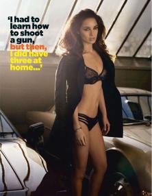 New Bond Girl Bérénice Marlohe GQ Magazine August 2012 Photos - 004