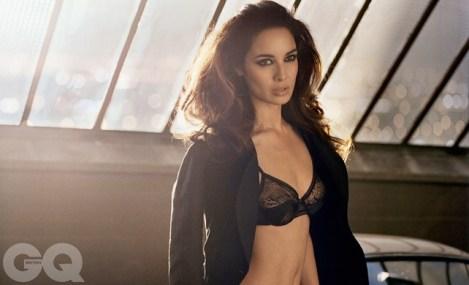 New Bond Girl Bérénice Marlohe GQ Magazine August 2012 Photos - 005