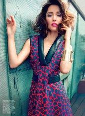 Rose Byrne Dazzles Flare Magazine August 2012 01