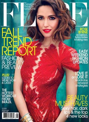 Rose Byrne Dazzles Flare Magazine August 2012 06