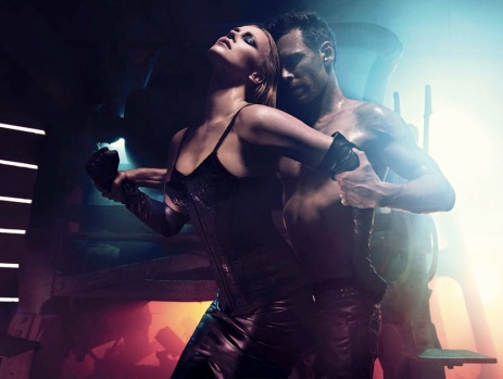 Sexy Charlize Theron & Michael Fassbender by Mario Sorrenti Photos 01
