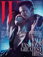 Sexy Charlize Theron & Michael Fassbender by Mario Sorrenti Photos 07 Cover