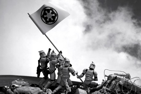 Star Wars Recreations of Famous Photographs by David Eger - 001