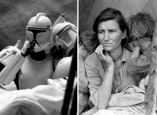 Star Wars Recreations of Famous Photographs by David Eger - 008