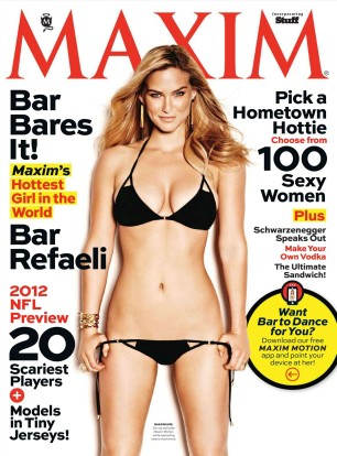 Bar Refaeli Hot in Maxim Magazine September 2012 Photos - 001