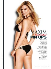 Bar Refaeli Hot in Maxim Magazine September 2012 Photos - 003