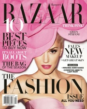 Gwen Stefani Harper's Bazaar September 2012 by Terry Richardson Photos - 001