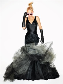 Gwen Stefani Harper's Bazaar September 2012 by Terry Richardson Photos - 007