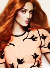 Katy Perry Goes Orange For L'Officiel September 2012 - 001