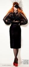 Katy Perry Goes Orange For L'Officiel September 2012 - 003