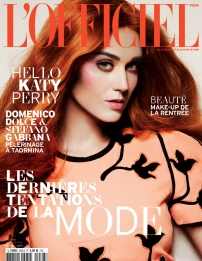 Katy Perry Goes Orange For L'Officiel September 2012 - 005