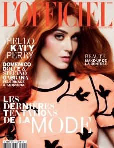 Katy Perry Goes Orange For L'Officiel September 2012 - 005