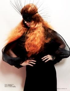Katy Perry Goes Orange For L'Officiel September 2012 - 007