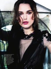 Keira Knightley for Harper's Bazaar UK September 2012 by Ellen von Unwerth Photos - 003