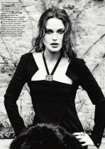 Keira Knightley for Harper's Bazaar UK September 2012 by Ellen von Unwerth Photos - 004