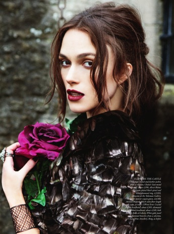 Keira Knightley for Harper's Bazaar UK September 2012 by Ellen von Unwerth Photos - 006