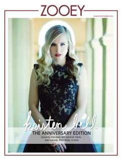 Kristen Bell Covers Zooey Magazine September 2012 [Photos] - 007