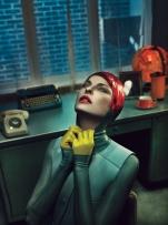 Linda Evangelista for W Magazine September 2012 [Photos] - 004