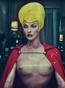 Linda Evangelista for W Magazine September 2012 [Photos] - 005