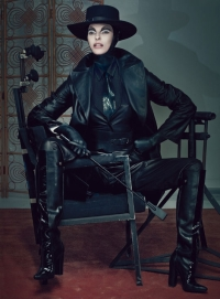 Linda Evangelista for W Magazine September 2012 [Photos] - 006