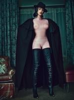 Linda Evangelista for W Magazine September 2012 [Photos] - 008