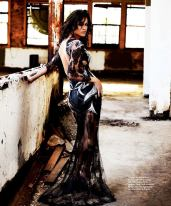 Michelle Rodriguez InStyle Magazine Russia September 2012 Photos - 002