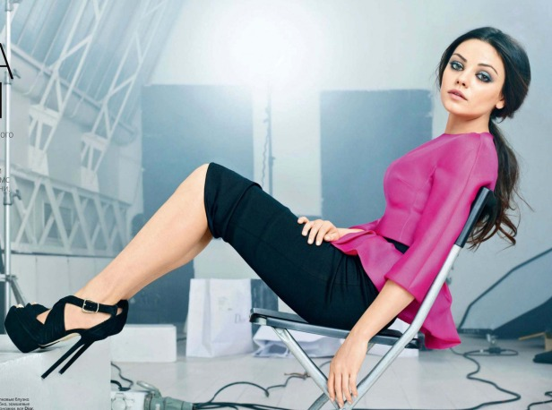 Mila Kunis Vogue Russia August 2012 Photos - 003