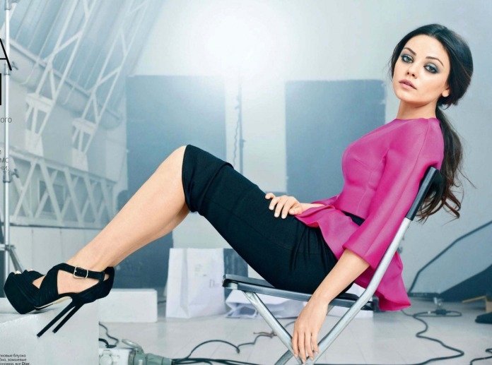 Mila Kunis Vogue Russia August 2012 Photos - 003