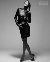 Zoe Saldana Sexy in the September Malibu Magazine by Mark Squires Photos - 002