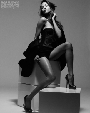 Zoe Saldana Sexy in the September Malibu Magazine by Mark Squires Photos - 006