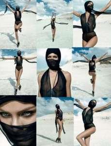 Candice Swanepoel Elle Brazil Magazine September 2012 [Photos] 004