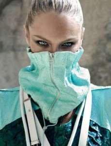 Candice Swanepoel Elle Brazil Magazine September 2012 [Photos] 006