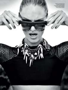 Candice Swanepoel Elle Brazil Magazine September 2012 [Photos] 008