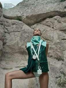 Candice Swanepoel Elle Brazil Magazine September 2012 [Photos] 009
