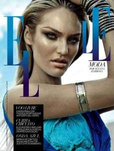 Candice Swanepoel Elle Brazil Magazine September 2012 [Photos] 014