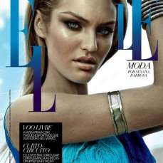 Candice Swanepoel Elle Brazil Magazine September 2012 [Photos] 014