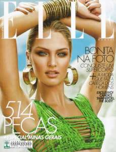 Candice Swanepoel Elle Brazil Magazine September 2012 [Photos] 015