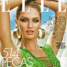 Candice Swanepoel Elle Brazil Magazine September 2012 [Photos] 015