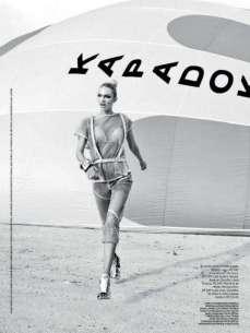 Candice Swanepoel Elle Brazil Magazine September 2012 [Photos] 018
