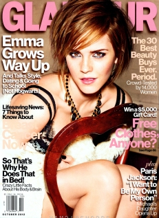 Emma Watson Glamour Magazine October 2012 [Photos] - 001