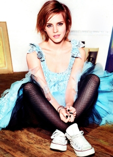 Emma Watson Glamour Magazine October 2012 [Photos] - 004