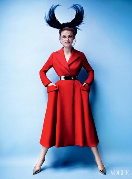 Keira Knightley Vogue US October 2012 [Photos] - 004